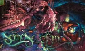 somos cosmos graffiti nio de las pinturas
