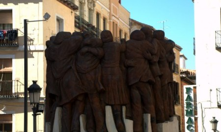 Monumento a los mártires de la Matanza de Atocha. Foto de maanhom