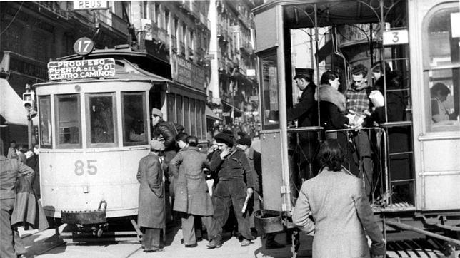 Tranvía calle Madrid