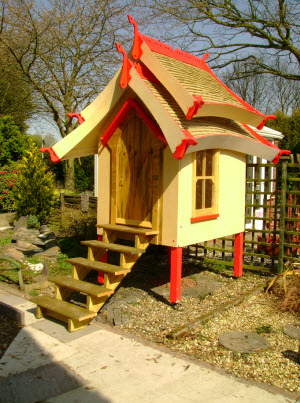 The Oriental Style Shed A Design And Build Lesson From A