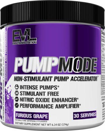 PumpMode Nitric Oxide Stimulant-Free Pre-Workout