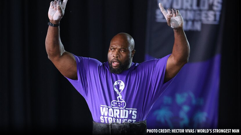 Only The Strongest: Mark Felix's World's Strongest Man Workout