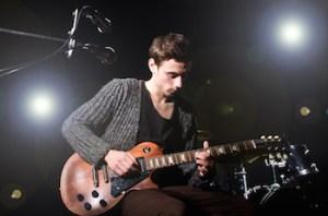 Guitarist - Band concert
