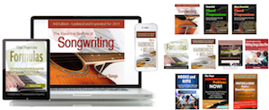 """""""The Essential Secrets of Songwriting"""" eBook Bundle packages"""
