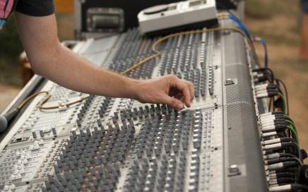 Music Studio Sound Board