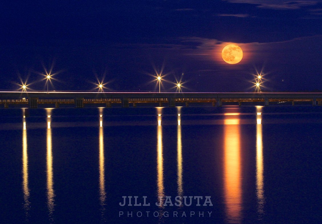 Super Moon on the Choptank (JJP)