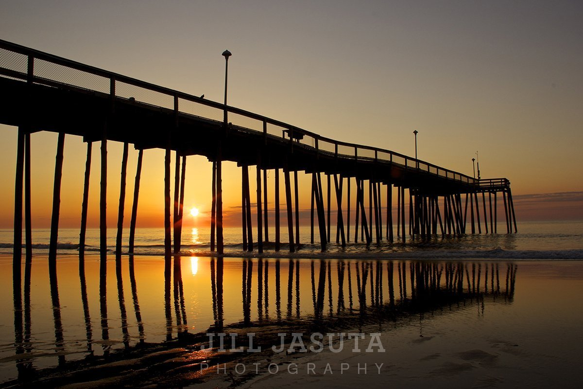 Ocean City Fishing Pier at Dawn (JJP)