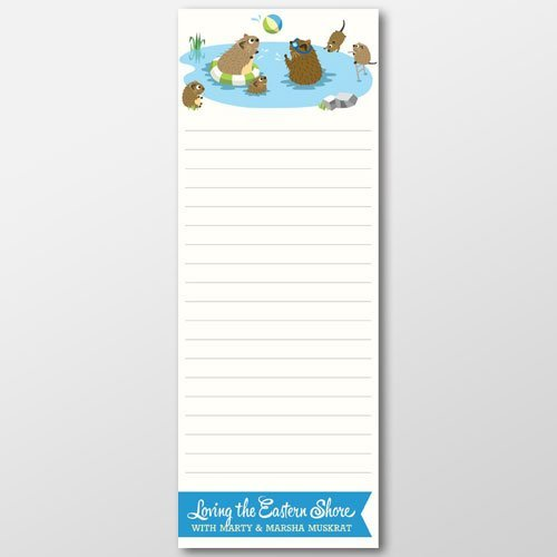 Marty & Marsha Summer Notepad