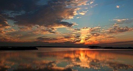 Sunset at Blackwater National Wildlife Refuge