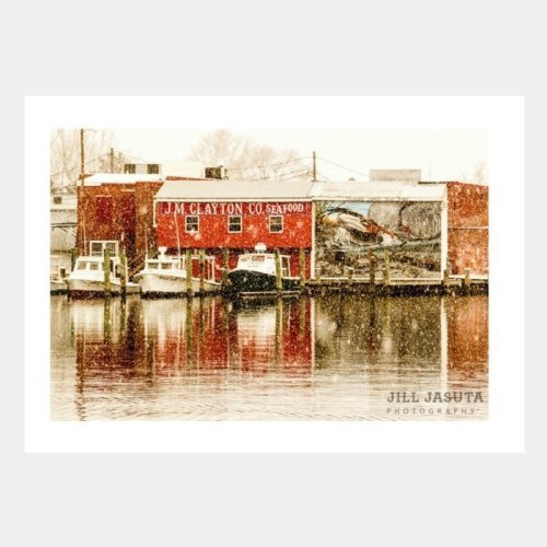 J.M. Clayton's in the Show Greeting Card, Eastern Shore of Maryland