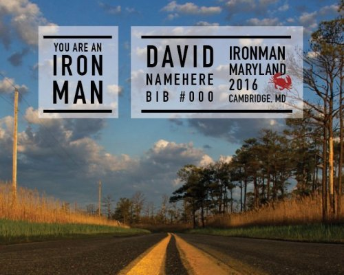 Ironman Maryland Memento--Open Road