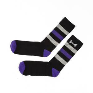 Independent Span Stripe Socks
