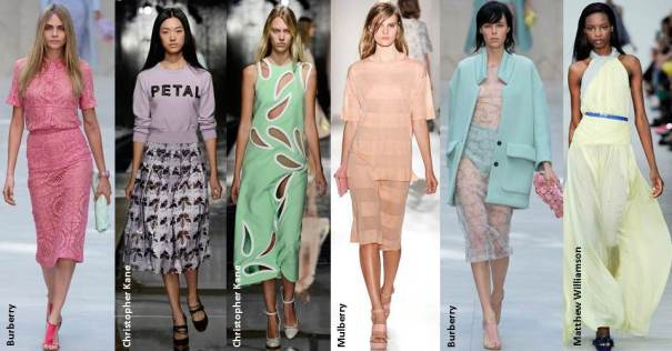 Best of the pastels at London Fashion Week