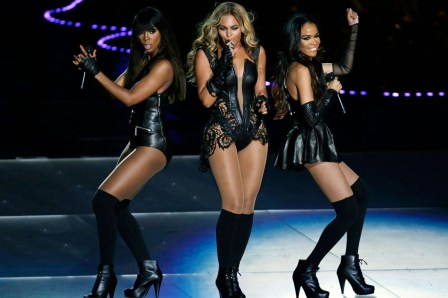 Destinys Child reunited at the Superbowl