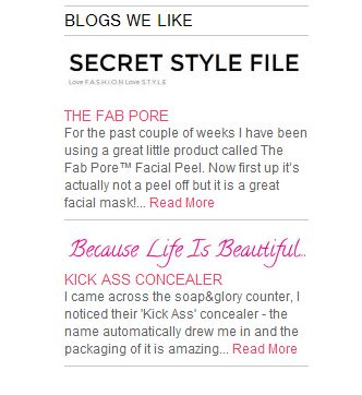 Soap&Glory - Secret Style File