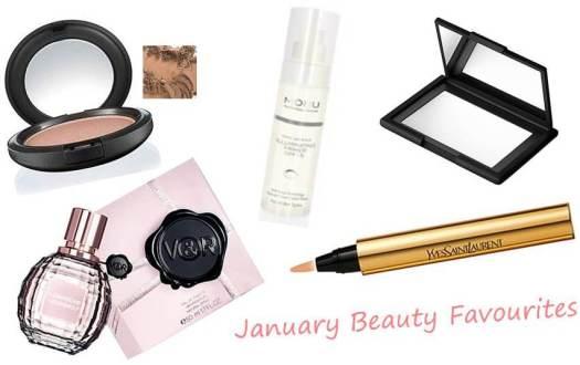 January Beauty Favourites ♥