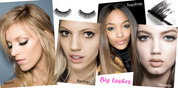 Autumn Winter Beauty Trends Round Up ♥ Big Lashes