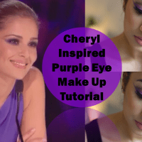 Cheryl Fernandez Inspired Purple Eyes ♥ XFactor Make-Up Tutorial