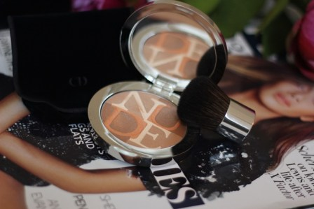 Winter Glow with Dior Nudeskin Bronzing Powder ♥