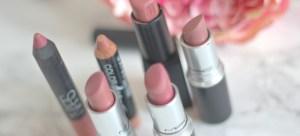 My Top Five Nude Lipsticks ♥