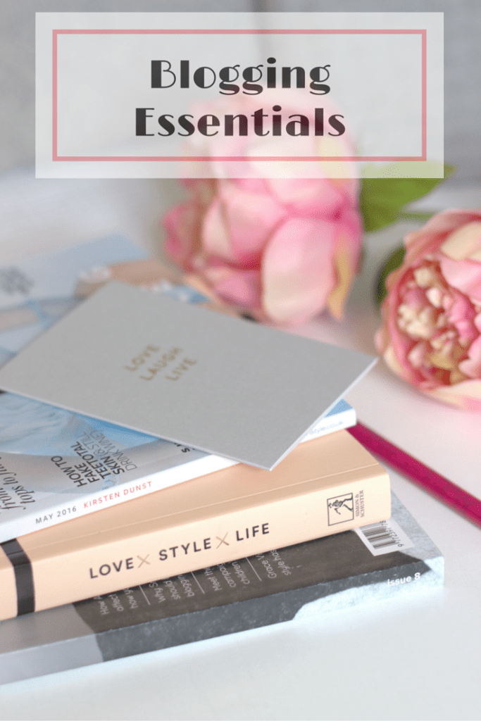 My Top Blogging Essentials ♥