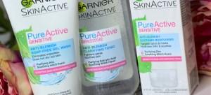 Garnier Pure Active Sensitive Range ♥