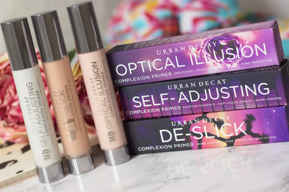 Urban Decay Complexion Primers Review ♥