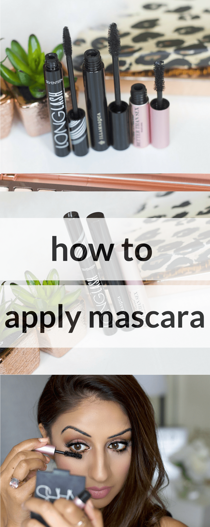 How to apply Mascara ♥ the real techniques
