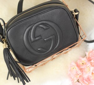 What's in my Gucci Disco Soho bag