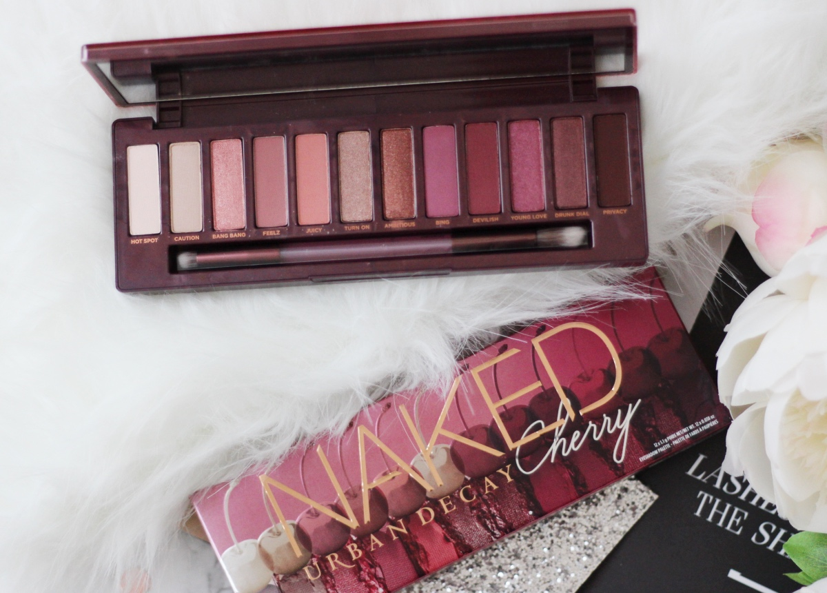 Urban Decay Naked Cherry Palette Review and Tutorial ♥