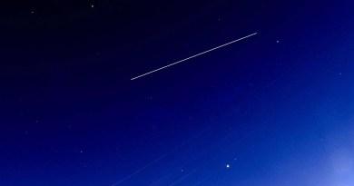 ISS国際宇宙ステーションwith「きぼう」を撮影 2018.05.22