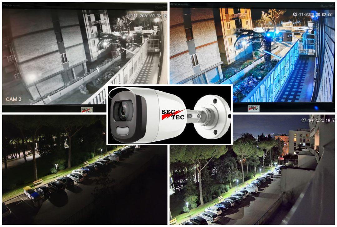 telecamera nigth color
