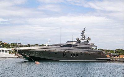 Sistema di videosorveglianza installato per barche e yacht