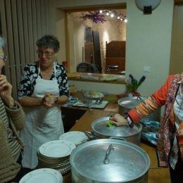 Briere (Ghislaine), Chantal G et Claudine L aux marmites