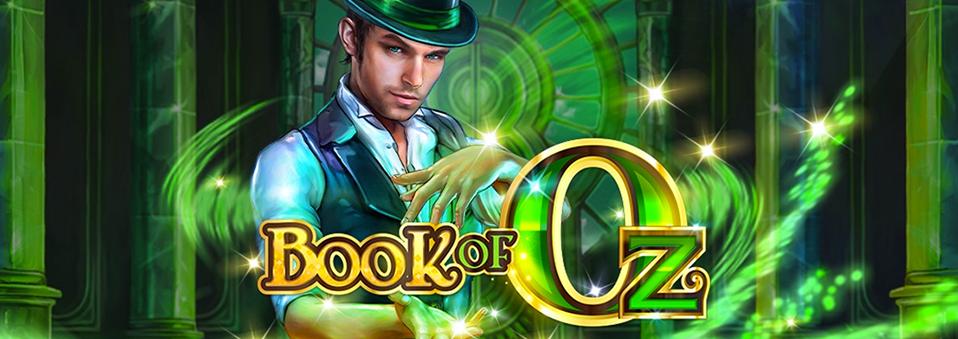 """Microgaming presenta """"Libro de Oz"""""""