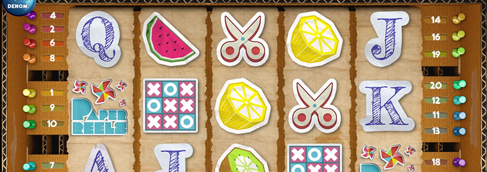 Paper Reels es el último juego de R. Franco Digital