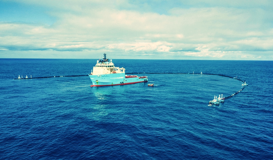 maritime-technologies, maritime-news - Ocean Cleanup Project - Ocean Cleanup to Redeploy Its System in June 2019