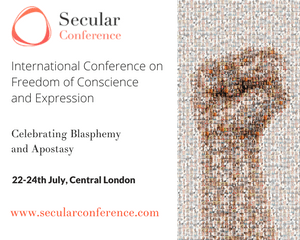 get your ticket for 2017 Secular Conference in London
