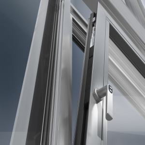 Security aluminium windows London