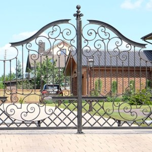 security-metal-gates-london
