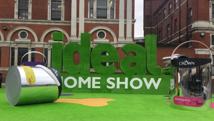 Secure House exhibit alongside Telcam Security Systems at Ideal Home Show 2018