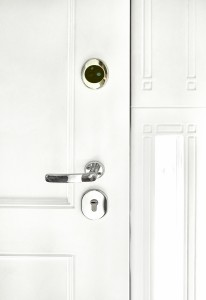security front door internal handle