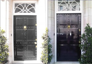 security front door replica Belgravia door