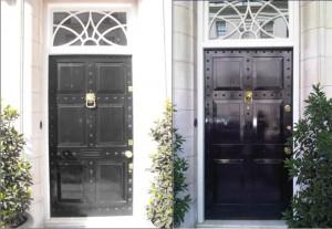 security front door replica Belgravia door