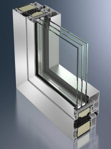 Aluminium windows London
