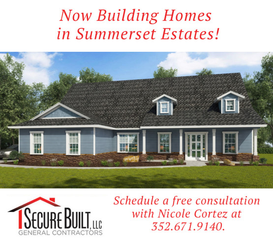 Now building in Summerset Estates! Come see us!