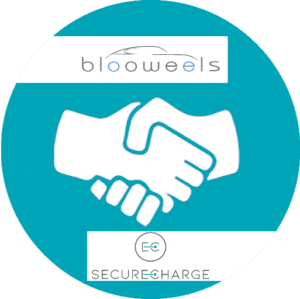 logo collaboration blooweels-securecharge