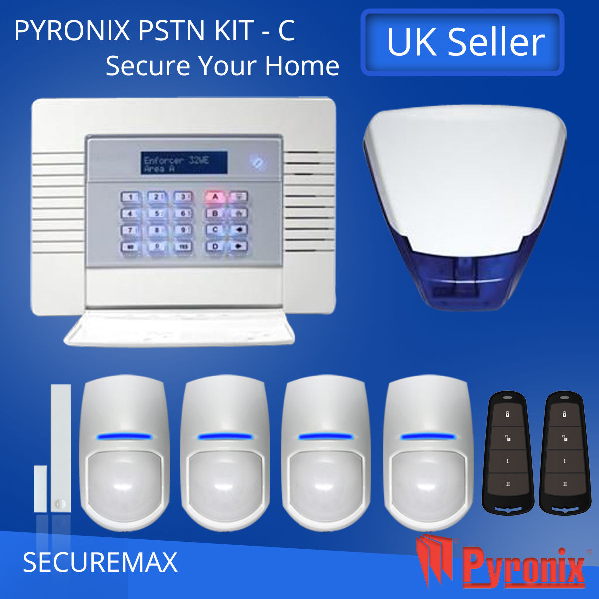 Pyronix Enforcer Wireless Alarm System Gsm Kit 1