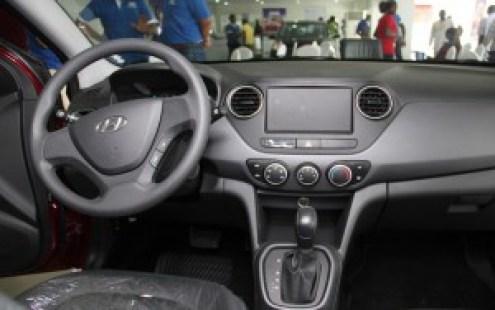 Hyundai Grand Xcent dashboard