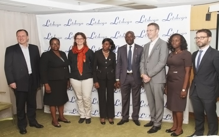 FBN Micro finance bank and Letshego team and the event.